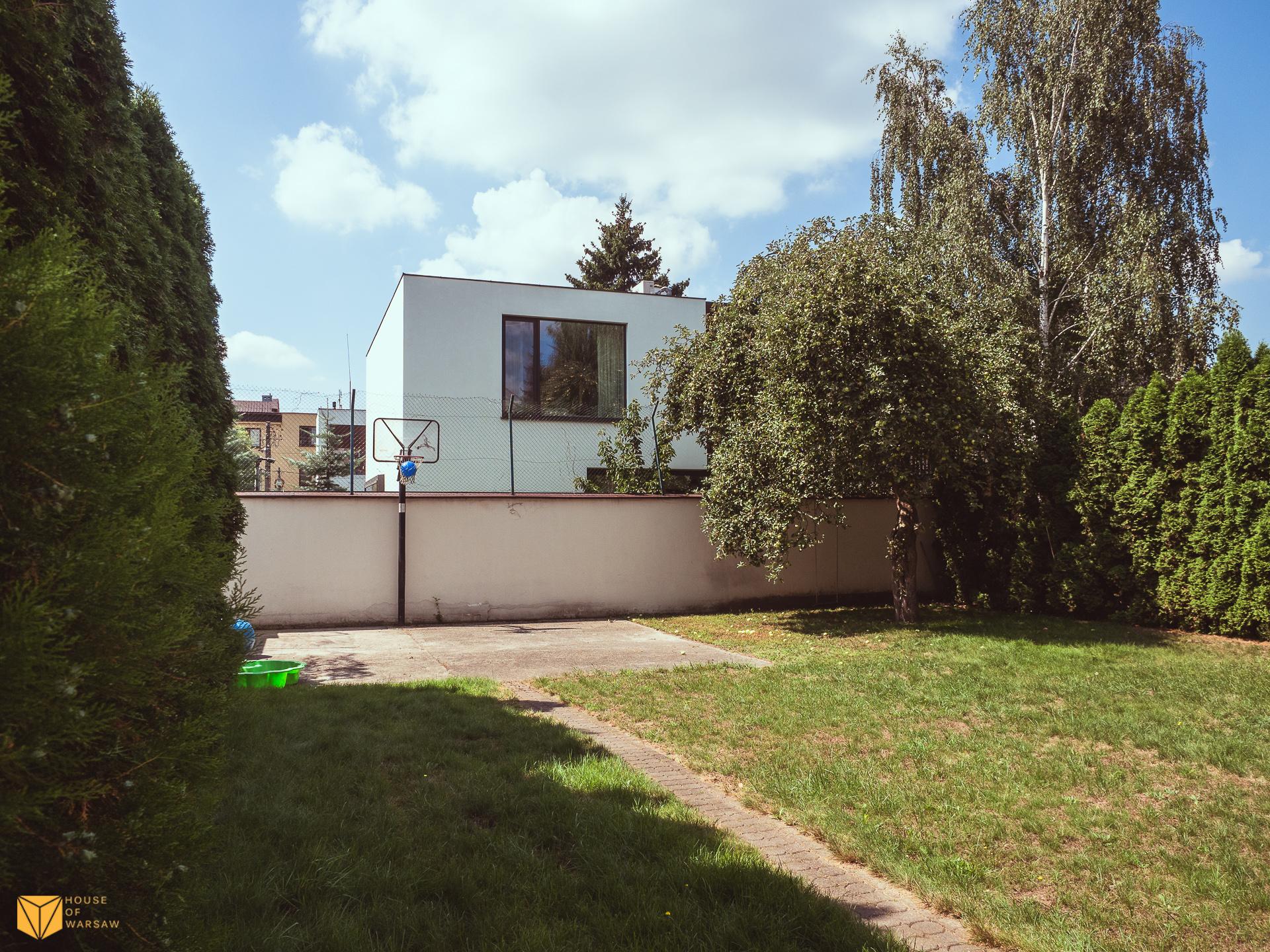 Klimatyzowany dom z dużym ogrodem w cichej okolicy Starego Wilanowa