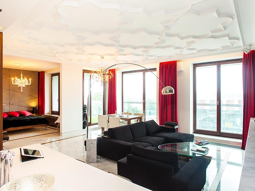 Luksusowy apartament do wynajęcia z widokiem na Wisłę