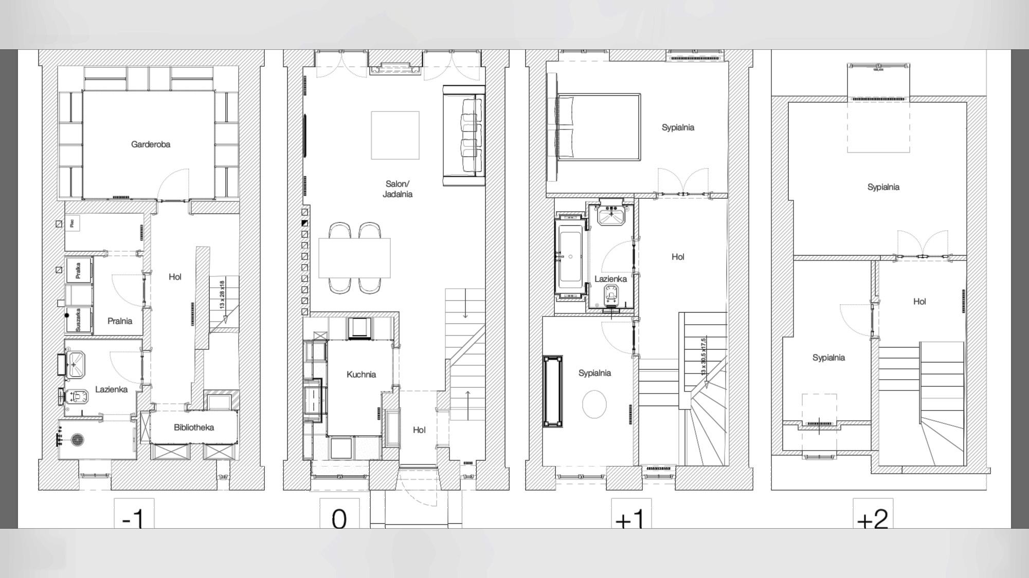 Dom w zabudowie szeregowej do sprzedaży położony na Starej Saskiej Kępie