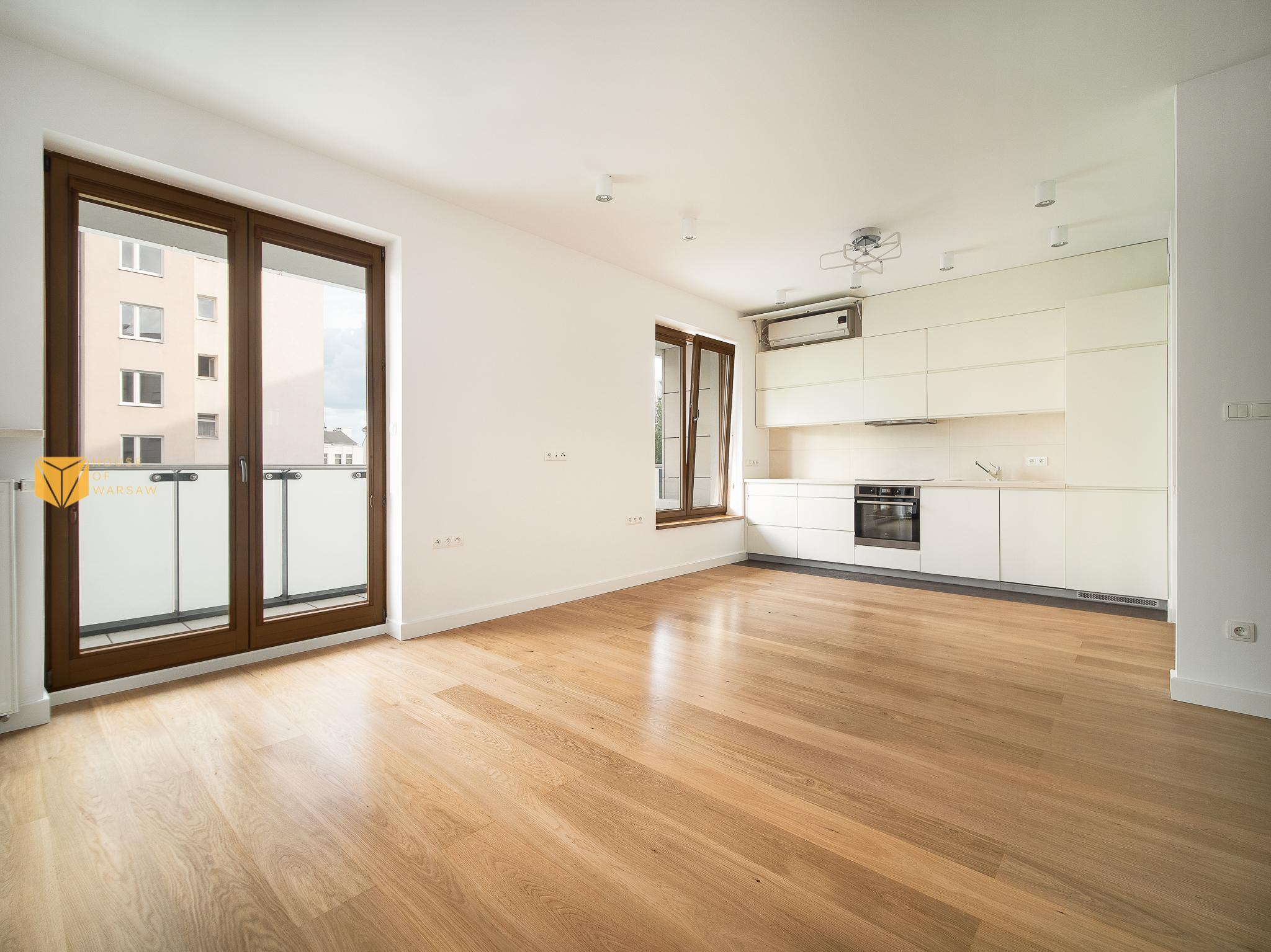 Klimatyzowany apartament do sprzedaży w centrum Warszawy